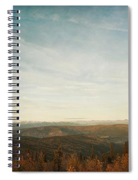 Mountains As Far As The Eye Can See Spiral Notebook
