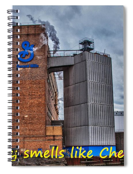My City Smells Like Cheerios Spiral Notebook