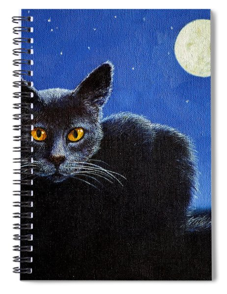 Name Of The Cat Nightmare Spiral Notebook