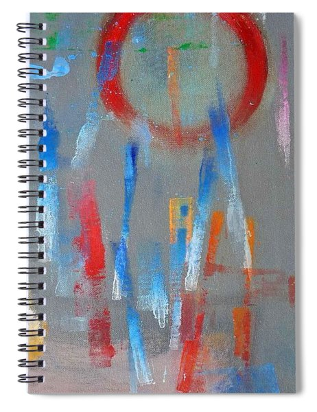 Native American Abstract Spiral Notebook