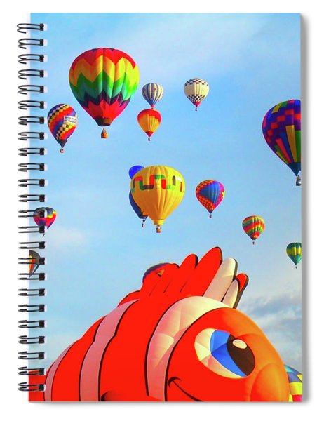 Nemo Blowing Bubbles Spiral Notebook