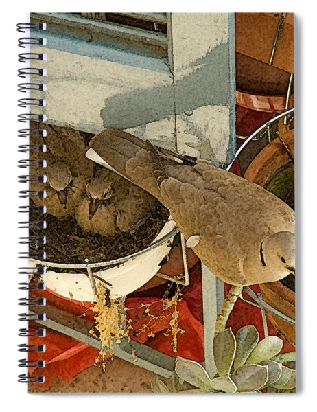 Thessaloniki, Greece - Nest Spiral Notebook