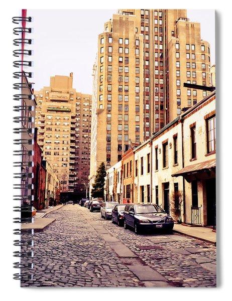 New York City - Greenwich Village Spiral Notebook