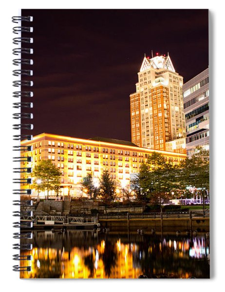 Night Life Spiral Notebook
