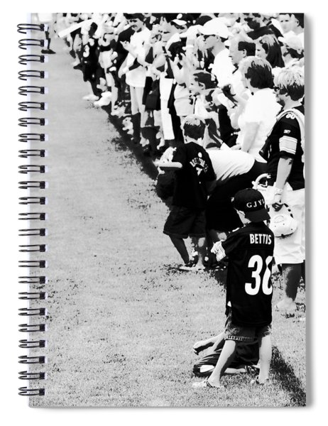 Number 1 Bettis Fan - Black And White Spiral Notebook
