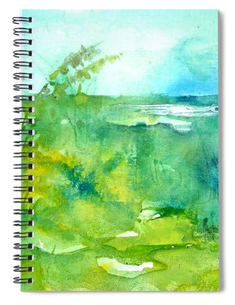 Ocean And Shore Spiral Notebook