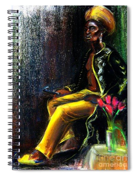 Odelisque Spiral Notebook