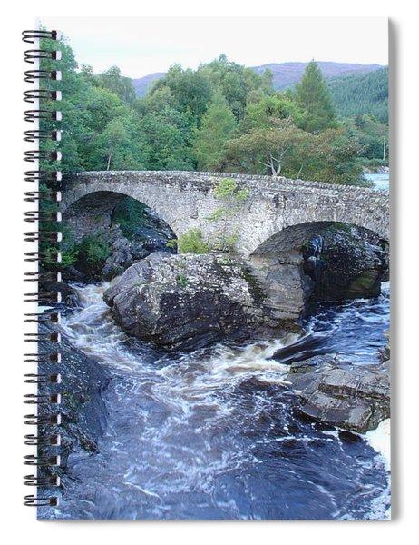Old Bridge At Invermoriston Spiral Notebook