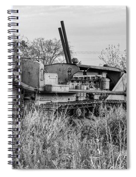 Old Cat Iv Spiral Notebook