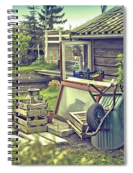 Old Country House Spiral Notebook