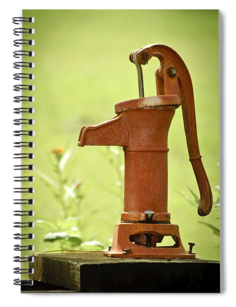 Old Fashioned Water Pump Spiral Notebook