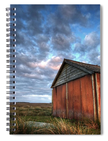 Old Hay Barn Spiral Notebook