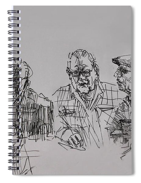 Old-timers  Spiral Notebook