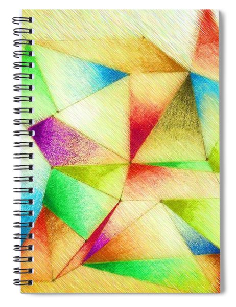 One Night Of Dreams Spiral Notebook
