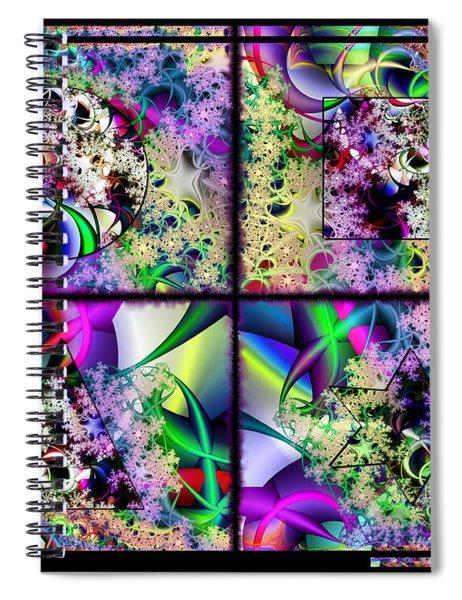 One Weirdass Design Spiral Notebook