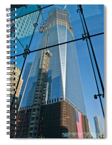 One Wtc Rising Spiral Notebook