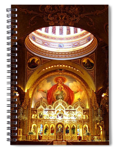 Orthodox Church In Los Angeles, California Spiral Notebook