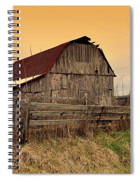 Ozark Barn 1 Spiral Notebook