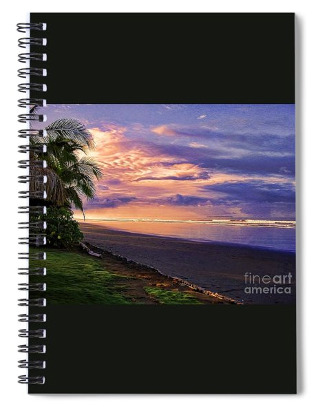 Pacific Sunrise Spiral Notebook