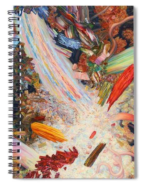 Paint Number 39 Spiral Notebook