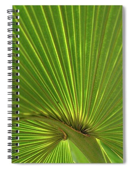 Palm Leaf Spiral Notebook