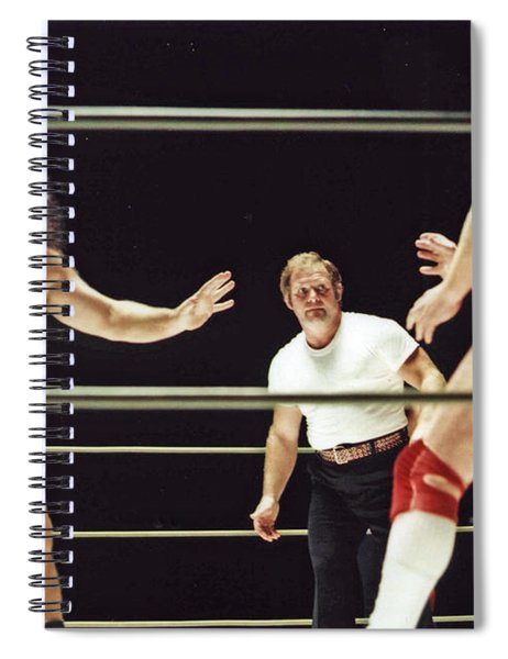 Pampero Firpo Vs Texas Red In Old School Wrestling From The Cow Palace  Spiral Notebook