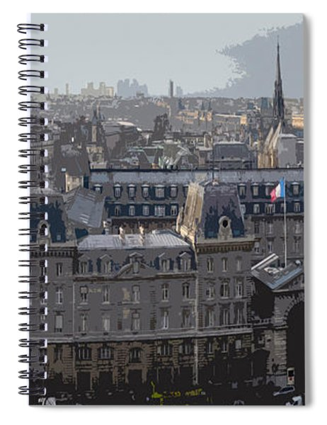 Paris 01 Spiral Notebook
