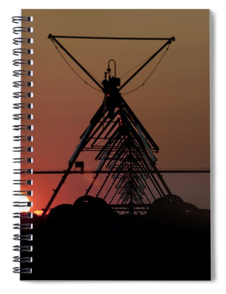 Partial Solar Eclipse Spiral Notebook
