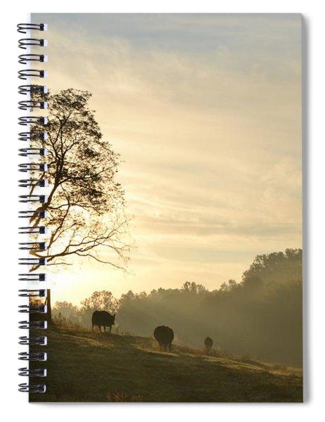 Pasture Sunrise Spiral Notebook