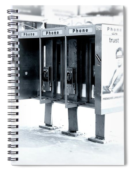 Pay Phones - Still In Nyc Spiral Notebook