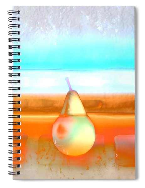 Pears On Ice 02 Spiral Notebook