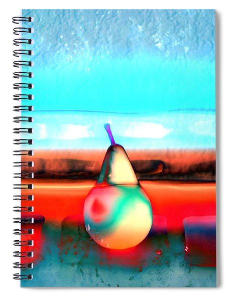 Pears On Ice 03 Spiral Notebook