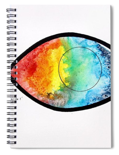Peces De Oracion 1 Spiral Notebook