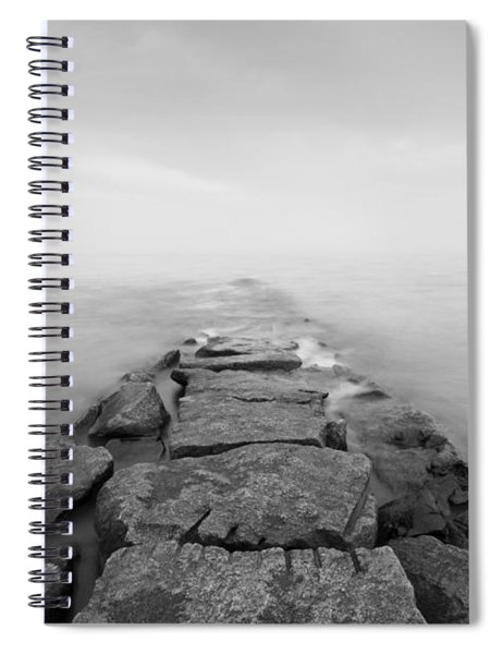 Penfield Jetty In Fairfield Connecticut Spiral Notebook