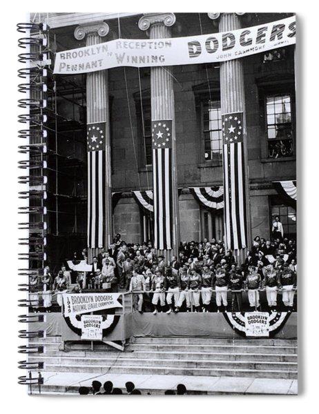 Pennant-winning Reception Spiral Notebook