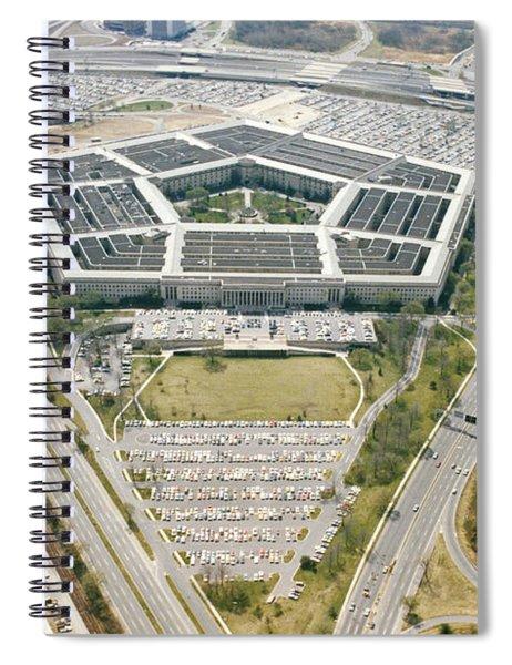 Pentagon Spiral Notebook