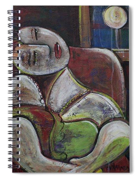 Picasso Dream For Luna Spiral Notebook