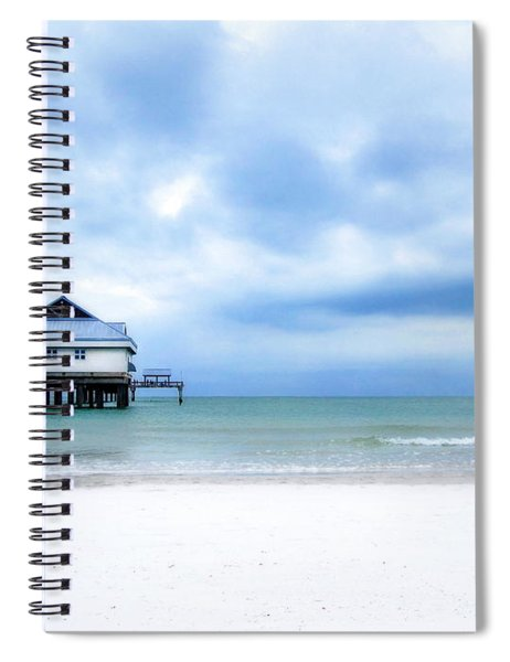 Pier 60 At Clearwater Beach Florida Spiral Notebook