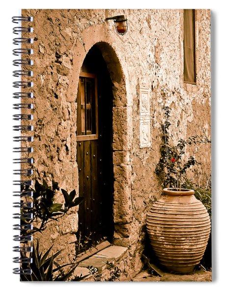 Monemvasia, Greece - Pithos Spiral Notebook