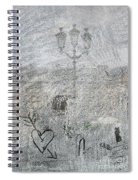 Place Vendome. Paris. France. Europe Spiral Notebook