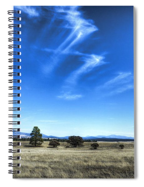Point Of Pines - San Carlos Indian Reservation Spiral Notebook