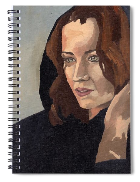 Portrait Of Becca 2 Spiral Notebook