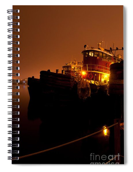 Portsmouth Tugs 1st Night Spiral Notebook