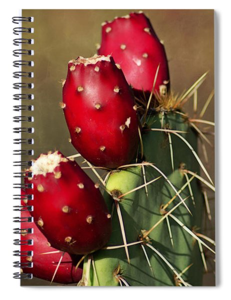 Prickley Pear Fruit Spiral Notebook