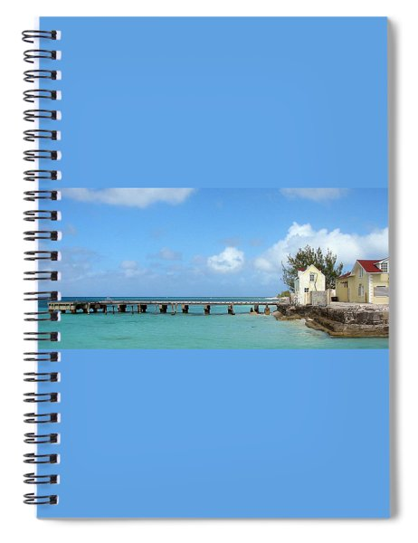 Private Dock Spiral Notebook