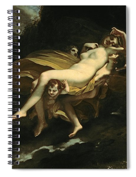 Psyche Transported To Heaven Spiral Notebook