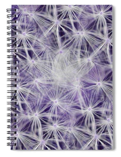 Purple Wishes Spiral Notebook