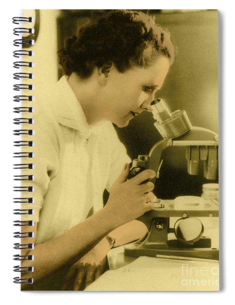 Rachel Carson, American Marine Biologist Spiral Notebook
