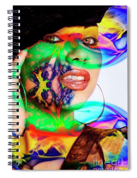 Rainbow Beauty Spiral Notebook