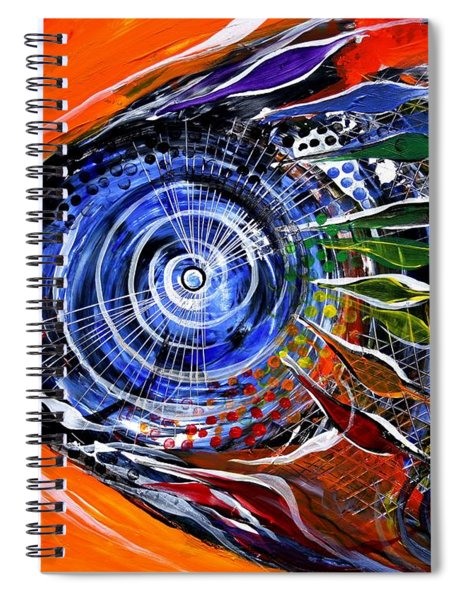Rainbow Left ... Again Spiral Notebook